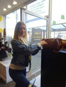 Zoe Michael Retail student