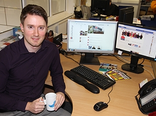 Sean Howitt, College's digital strategy recognised by local business