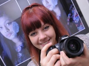 Photography student