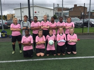 Ladies College development football team