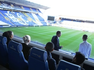 Solihull College Hospitality Students at Birmingham City FC