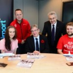 Prince's Trust team meet MP Julian Knight