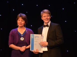 Thomas Lusty - CIBSE Engineering Award