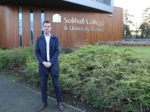 Gary Poulton - Solihull College Apprenticeship brand ambassador