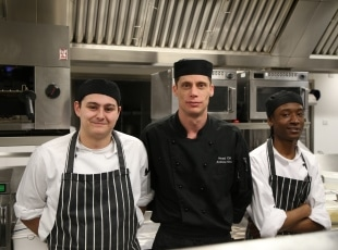 Chef Apprentices at Ramada Hotel