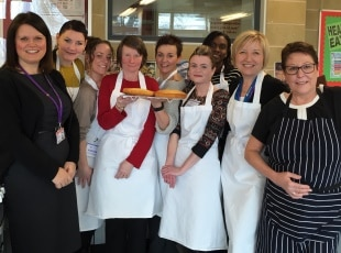 Maths students bake off