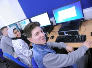 Solihull College computing students