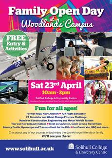 Woodlands Family Open Event