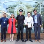 Media student works with Solihull Police