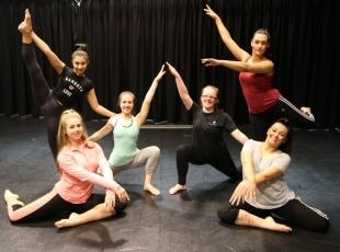Dance students at Solihull College & University Centre