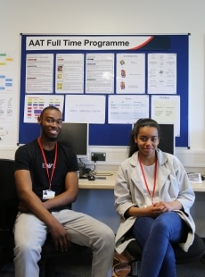 AAT Accounting students