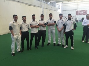 Solihull College & University Centre Indoor Cricket Team