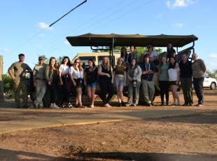 Animal Management students in South Africa