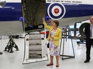 MP Caroline Spelman opens aerospace facilities