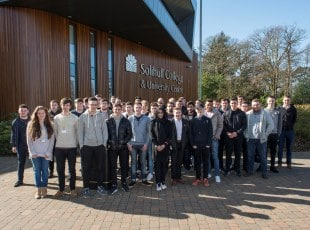Apprentices at Solihull College