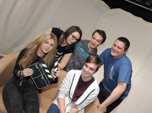 Students at Solihull College