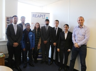 Computing students work experience