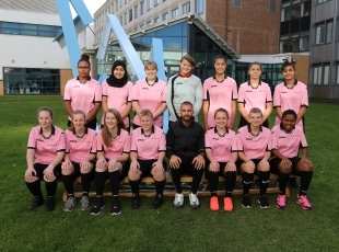 Solihull College ladies development football team