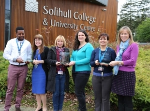 Solihull College award win