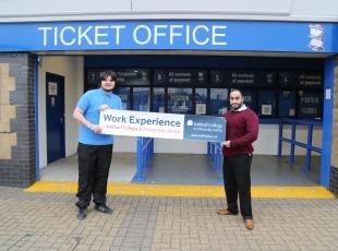 Work Experience at Birmingham City FC