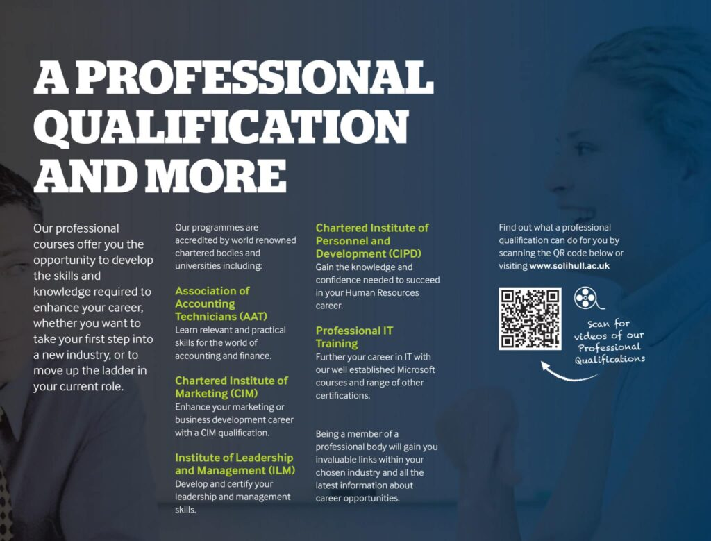 Choosing The Right Course Study At Solihull College