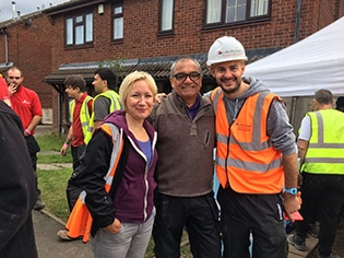 college staff getting involved in diy sos
