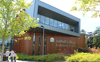 solihull college building picture