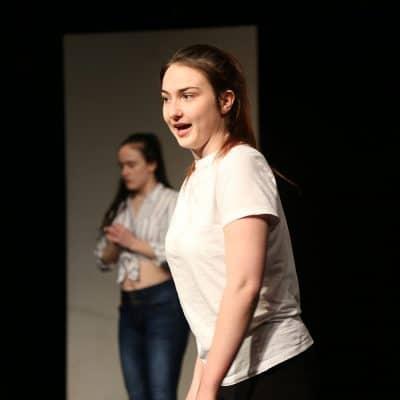 Performing arts students