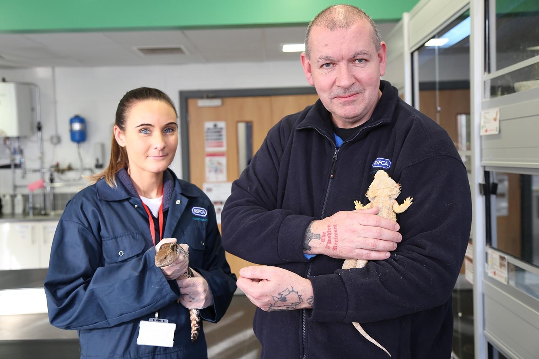 RSPCA & Animal care student