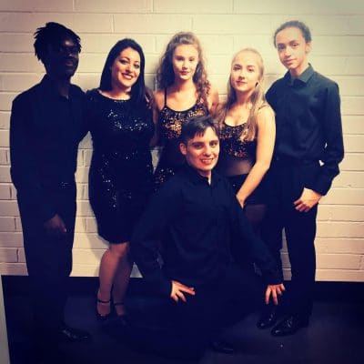 performing arts students