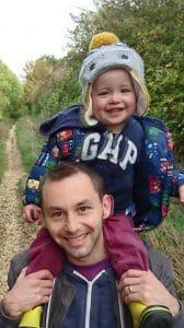 Jonathan and his child