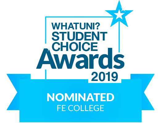 What uni? Student Choice Awards 2019 Nominated FE College