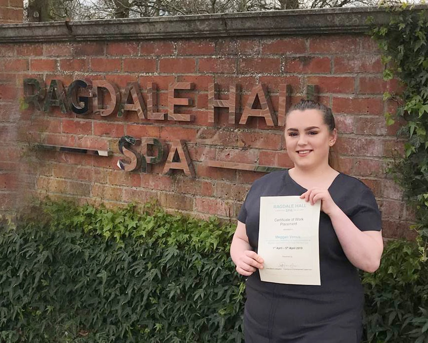 certificate of work placement