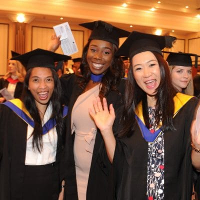 3 students graduation