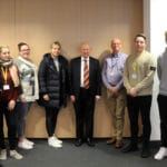 Public services students with criminal judge